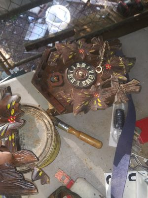 Antique wooden coo-coo clock for Sale in Fountain Inn, SC