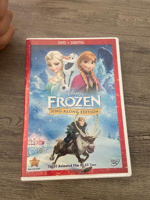 Disney Frozen Sing Along DVD for Sale in Whittier, CA