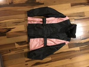 Rain Gear size S black and pink for Sale in Maryville, IL