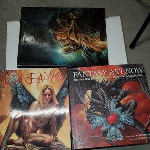 Fantasy Art Books By Boris Vellejo for Sale in Lehigh Acres, FL