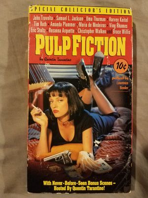 Pulp Fiction (VHS) for Sale in Providence, RI