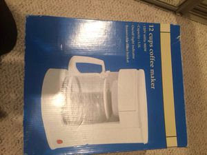 Brand new coffee maker for Sale in Gaithersburg, MD
