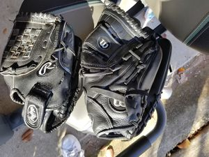 Get ready for Baseball! 2 gloves $20.00 for Sale in Pflugerville, TX
