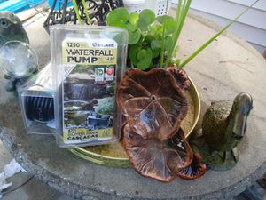 Pond plants pumps spinners for Sale in Chesapeake, VA