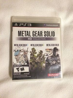 PS3 Metal Gear Solid: HD Collection for Sale in Downey, CA