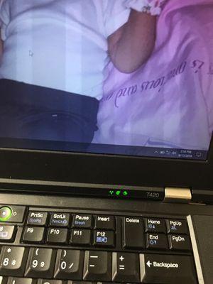 Black think pad laptop for Sale in Bressler, PA