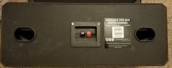 Bic Venturi 2 way center channel speaker