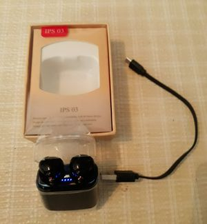 Brand new IPS-03 wireless earbuds I'm in fontana message only when ready to pick up for Sale in Fontana, CA