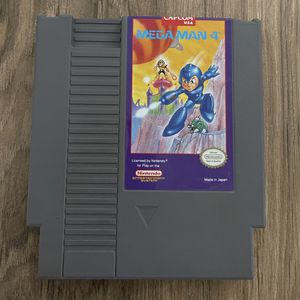 Mega Man 4 (Nintendo Entertainment System, 1992) for Sale in Livermore, CA