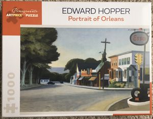 Pomegranate Art Piece Puzzle Edward Hopper Portriat of Orleans 1000 pieces puzzle for Sale in Fairview, OR