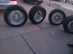 20 inch six lug for pickup or suv for Sale in Phoenix, AZ