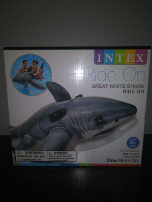 Shark Pool Float. New . 5.6 Ft x 3.5 Ft. for Sale in Brandon, FL