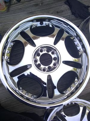 One Set Chrome Rims for Sale in Falls Church, VA