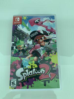 Splatoon 2 Nintendo Switch for Sale in Key Biscayne, FL
