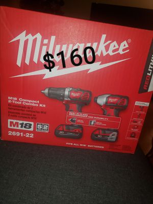 Milwaukee m18 compact drill for Sale in City of Industry, CA