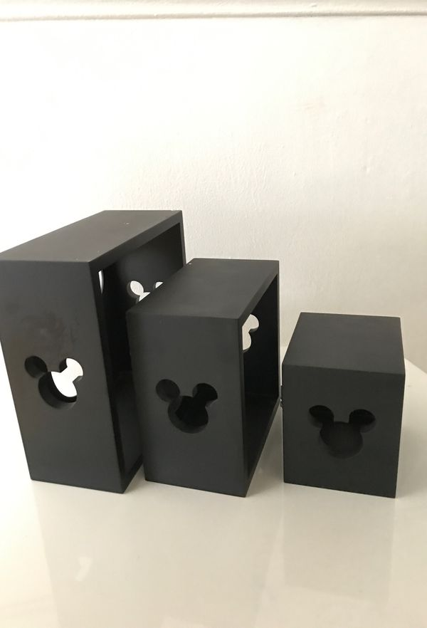 Mickey Wall shelves