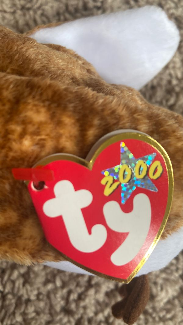 Wisest original Beanie Baby with tag attached