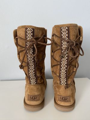 Ugg boots women's size 6. for Sale in Gaithersburg, MD