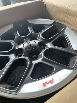 "2018 2019 Jeep Wrangler JL Rubicon 17"" Wheels (Rims Only) Set of 5 OEM for Sale in Boca Raton, FL"