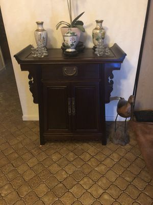 Authentic Antique Chinese wooden Alter Table Cabinet for Sale in Vallejo, CA