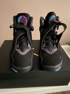 "Air Jordan 8 Retro ""Aqua"" size 12 for Sale in Highland, MD"