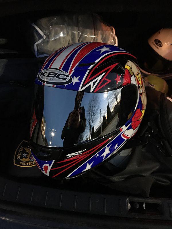 Kbc motorcycle helmet Medium