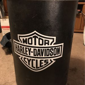 Harley Davidson Trash can/barrel for Sale in Sanger, CA