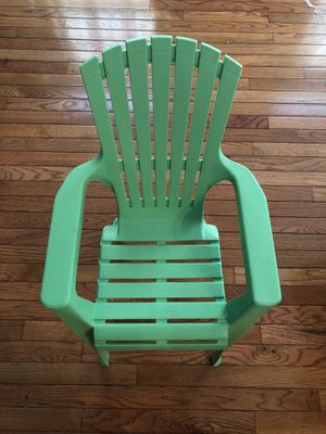 Green kids chair for Sale in Colesville, MD