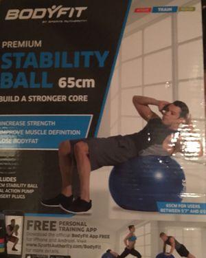 Fitness Gear 65 cm Premium Stability Ball training balance strength training - Brand New! for Sale in Denver, CO