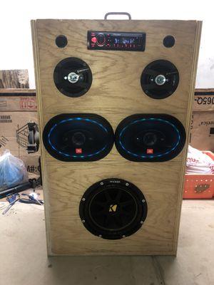 Car audio boom box for Sale in Winton, CA