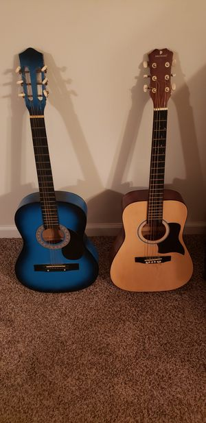 Two 6 string Acoustic Guitars for Sale in Clayton, NC