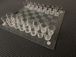Glass chess board (Drinking Game) for Sale in Sacramento, CA