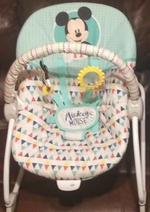 Bright Starts Bouncer & FisherPrice Highchair for Sale in Mexico, MO