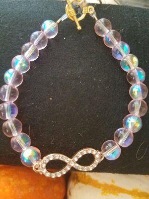 "Infinity charm bracelets. 7.5"". $12/each for Sale in Tempe, AZ"