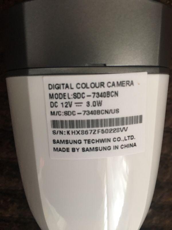 Samsung Digital Colour Camera 7340 BCN & 5340 BCN