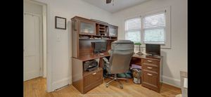 Corner Office Desk With Hutch for Sale in Alpharetta, GA