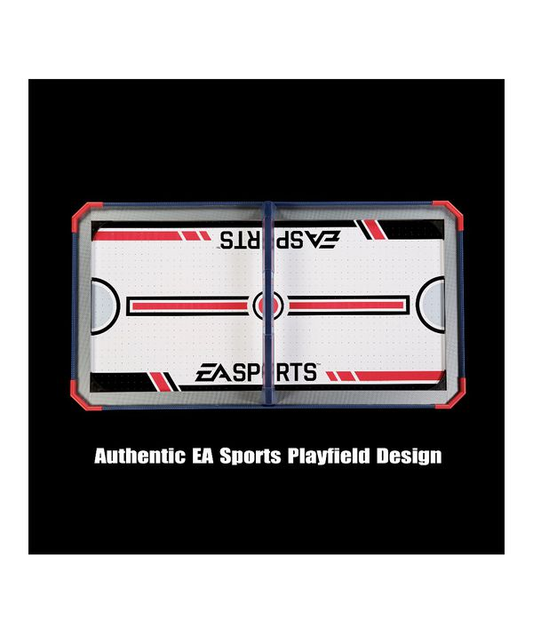 New In Box EA Sports 60 Inch Air Powered Hockey Table with Overhead Electronic Scorer