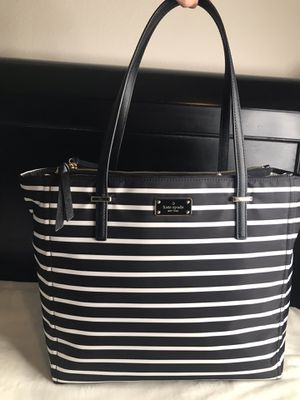 Kate Spade NY Talya Wilson Road French Stripe Womens Nylon Tote for Sale in Los Angeles, CA