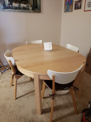 IKEA dining table and chairs for Sale in Land O Lakes, FL