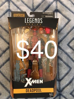 Marvel Legends Deadpool from Juggernaut wave for Sale in Wichita, KS