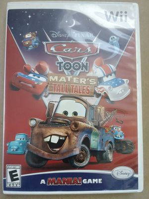 Wii Disney Cars Toon Video Game Mater's Tall Tales for Sale in La Mirada, CA