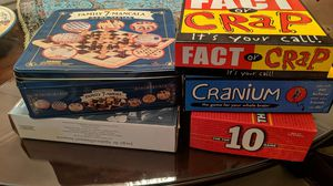 5 board games for Sale in Washington, DC