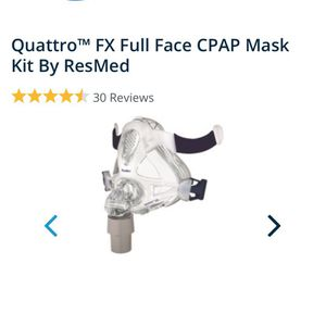 Quattro™ FX Full Face CPAP Mask Kit By ResMed for Sale in Winter Park, FL