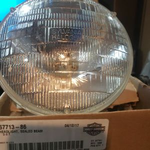 """Holly Davidson headlight sealed beam. Condition is """"New"""" for Sale in East Providence, RI"""