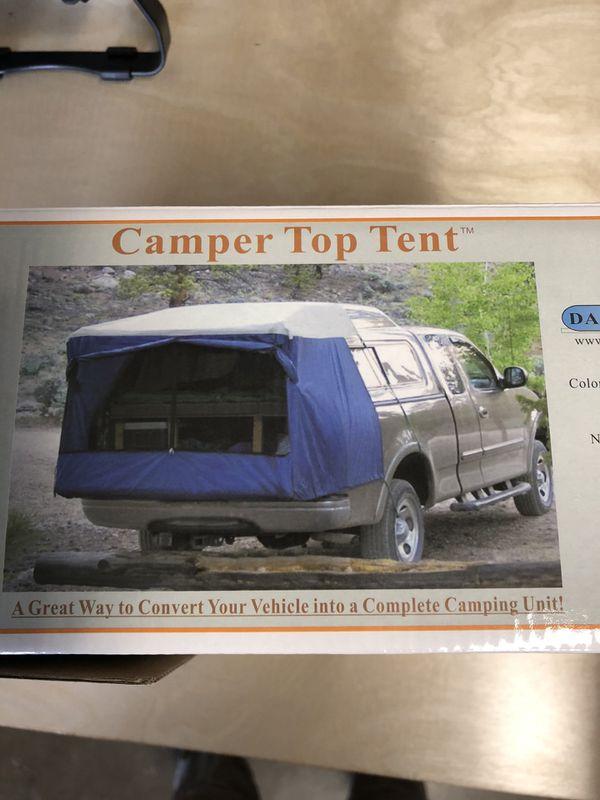 Camper topper.