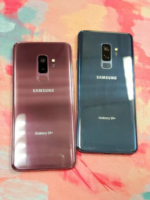 Samsung Galaxy S9 Plus 64 GB Unlocked Each for Sale in Malden, MA