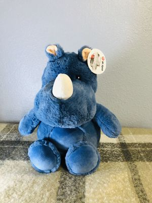 Target blue hippo plush stuffed animal for Sale in Compton, CA