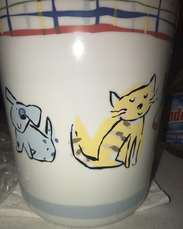 Dog&Cat Kids Bathroom Decor Set