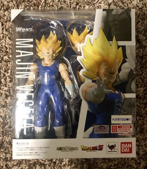 Dragonball z SH Figuarts majin Vegeta for Sale in Kent, WA