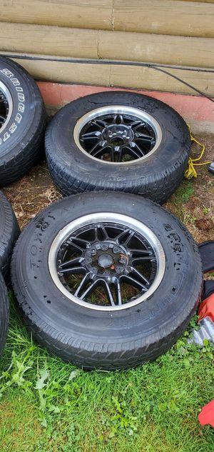 Tires and wheels 265/70R17 for Sale in Federal Way, WA